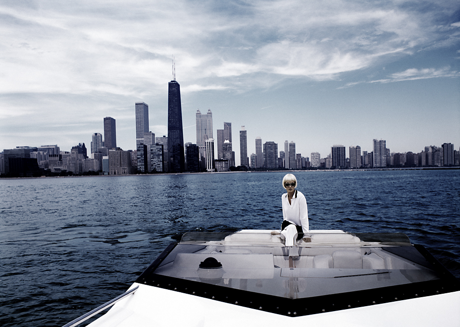 Chicago 9 photo by werner pawlok, havanna, havana, cuba, chiago, downtown, fashion, photography on location, boat, skyline