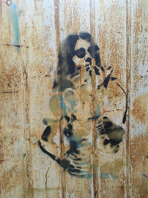 Grafitti in Old Havana I, 2015 Grafitti in Old Havana I; cuba expired; Werner Pawlok