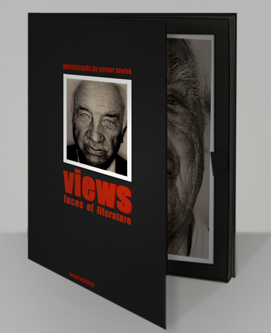 views box open edition, photo by werner pawlok, schriftsteller, writer, fine art photography, views faces of literature