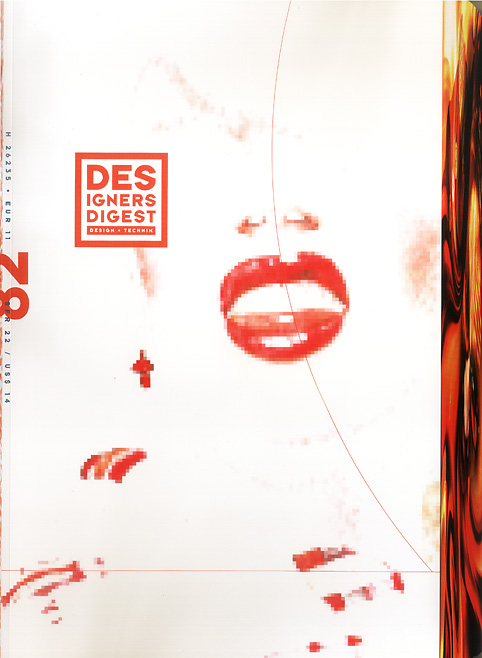 Designers Digest cover Designers Digest, Five days Paris, Werner Pawlok, Photography,
