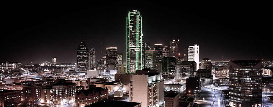 Dallas 1 Dallas, bei nacht, by night, photo by werner pawlok, city, photography, architecture