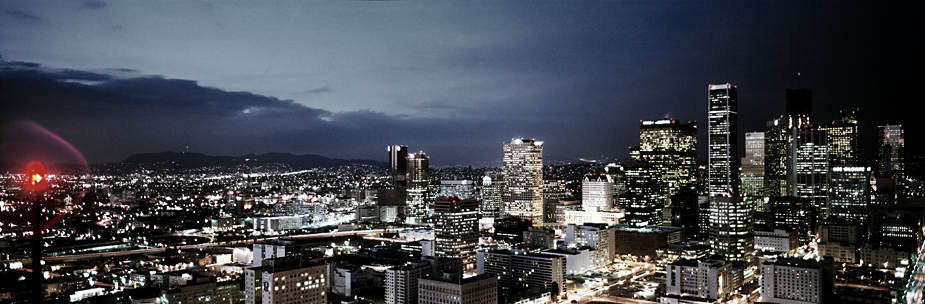Los Angeles 3 Los Angeles, LA, USA , bei nacht, by night, photo by werner pawlok, city, photography, architecture, skyline