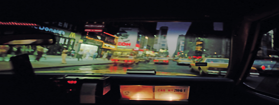 Cab Driving cab driving, moving cities, photo by werner pawlok, fine art photography, new york city, nyc, urbane stadtansichten, stadtszenen