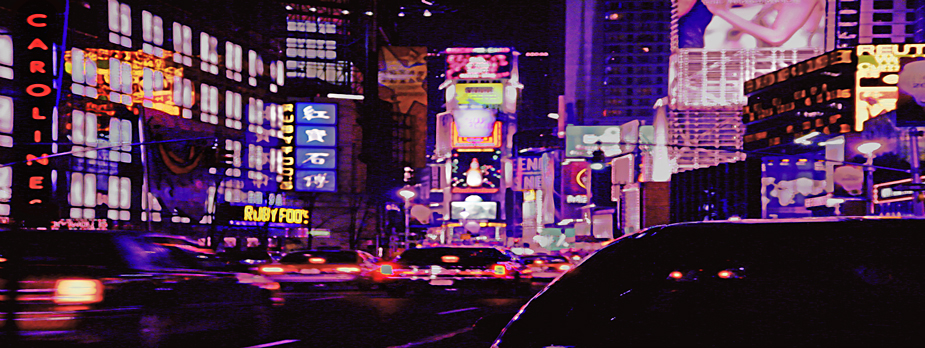 Time Square moving cities, photo by werner pawlok, fine art photography, new york city, nyc, urbane stadtansichten, stadtszenen, time square, time square nyc