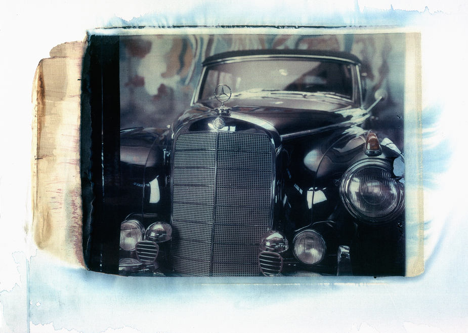 Mercedes Benz Typ 300 Typ 300; Mercedes-Benz; Oldtimer; Photo by Werner Pawlok; Polaroid 50x60; Transfers; Master Pieces;