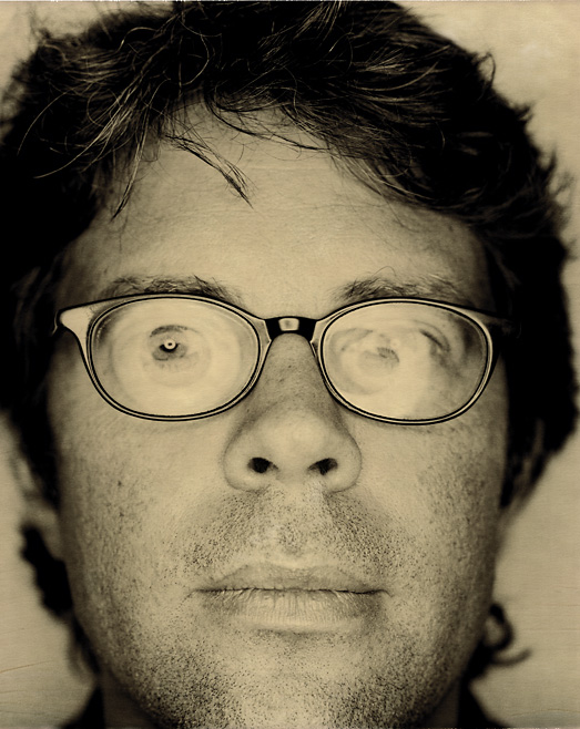 Jonathan Franzen Jonathan Franzen, Polaroid, views, faces of literature, photo by Werner Pawlok, Zürich, Kaufleuten, Schritfsteller, writer, The Corrections, Die Korrekturen, Twenty Seventh City, Die 27ste Stadt, Strong Motion, Schweres Beben, How to be Alone, Anleitung zum Alleinsein