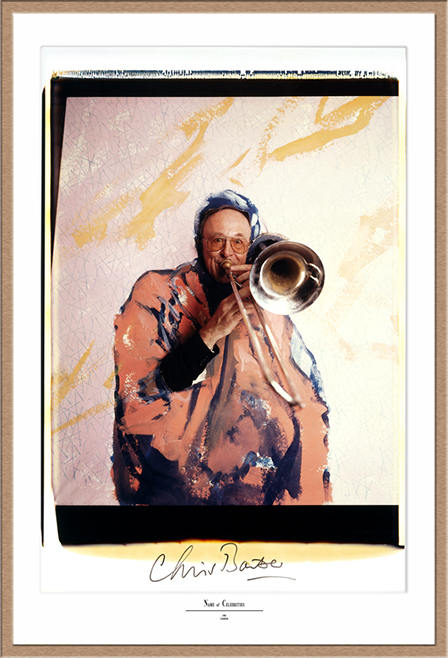 "Chris Barber Polaroid 50x60, Polaroid Photography, Polaroid 20x24"", Werner Pawlok, Chris Barber,"