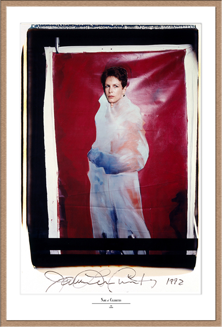 "Jamie Lee Curtis Polaroid 50x60, Polaroid Photography, Polaroid 20x24"", Werner Pawlok, Jamie Lee Curtis,"